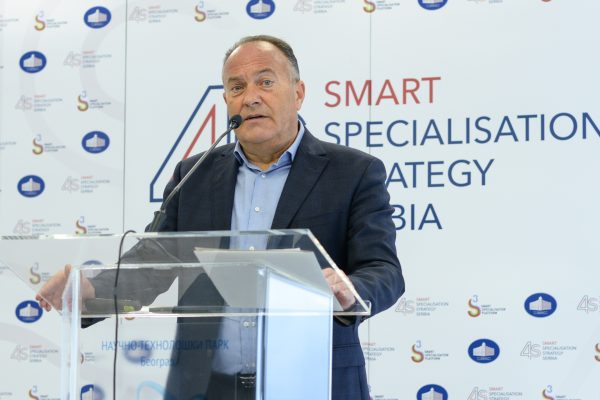 Mladen Sarcevic, Ministar prosvete, nauke i tehnoloskog razvoja